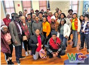 Civil Rights Pilgrimage is a powerful part of the Navarro Wesley journey