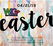 FUMC Joshua Takes a Unique Approach in Easter Sunday Promotions